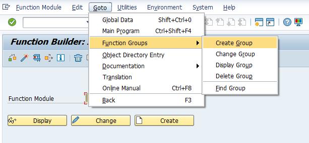 SAP ABAP Function Module