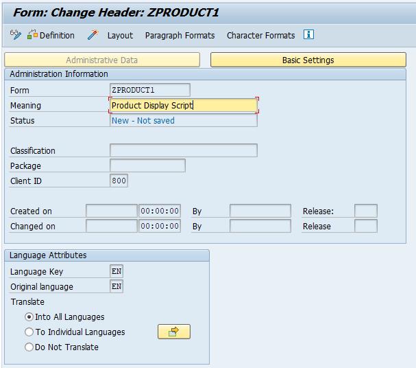 SAP ABAP Sapscripts