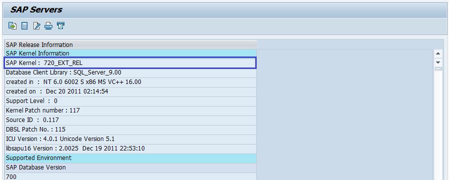 SAP BASIS - Kernel Upgrade