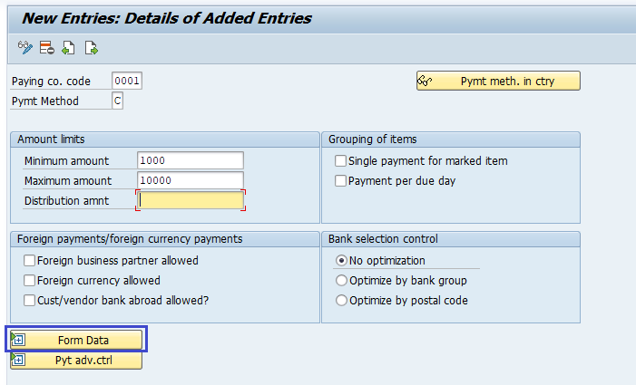SAP FI Automatic Payment Program
