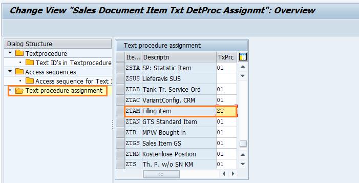 SAP SD Text determination for sales document